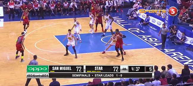 San Miguel def. Star Hotshots, 77-76 (REPLAY VIDEO) Semis Game 2 / June 12