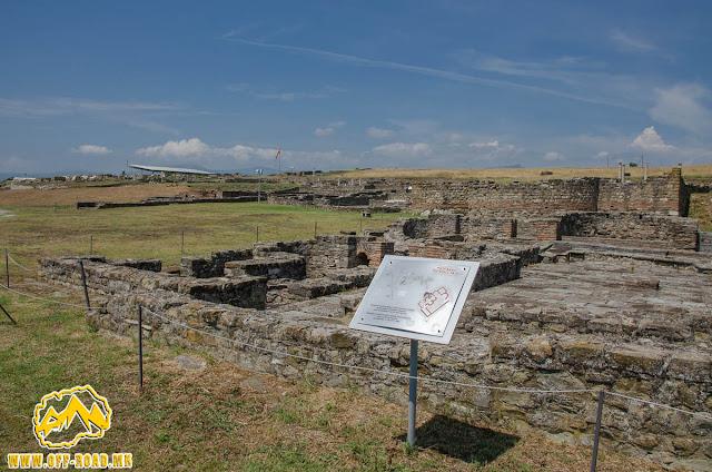 THE SMALL BATH #Stobi Archaeological site #Macedonia