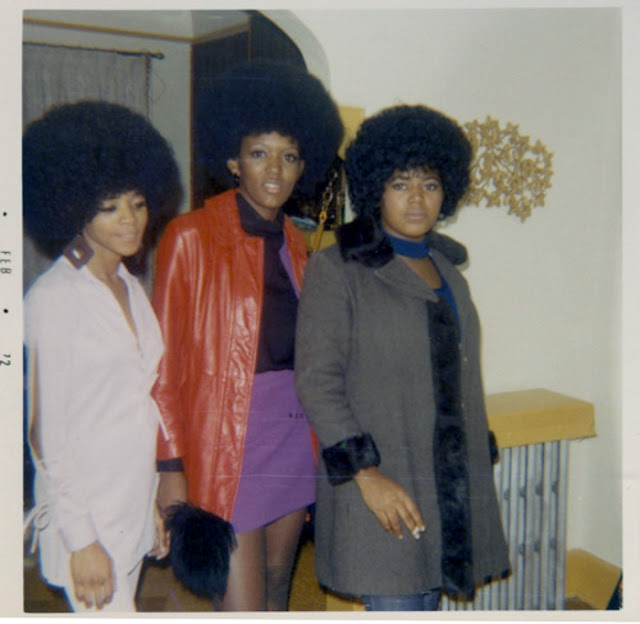 afro the popular hairstyle of africanamerican people in