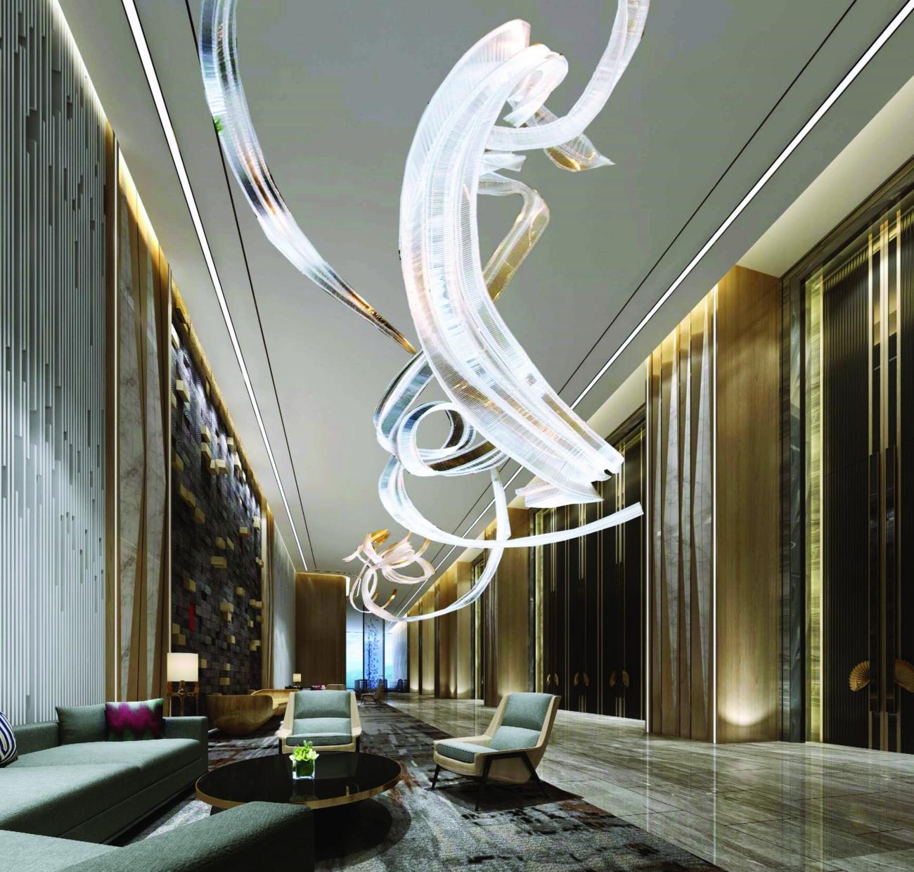 thiết kế sang trọng tại dự án La Luna Resort