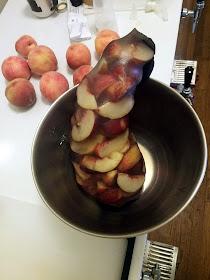 White nectarines, onto the peaches!