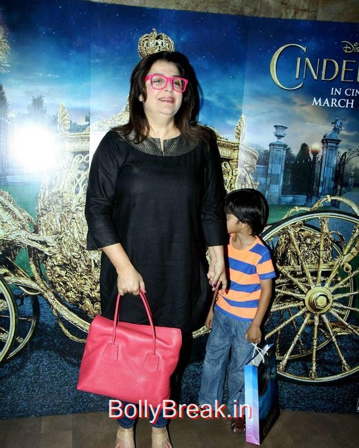 Farah Khan, Mini Mathur, Madhurima Nigam Hot Pics At Film 'Cinderella' Special Screening