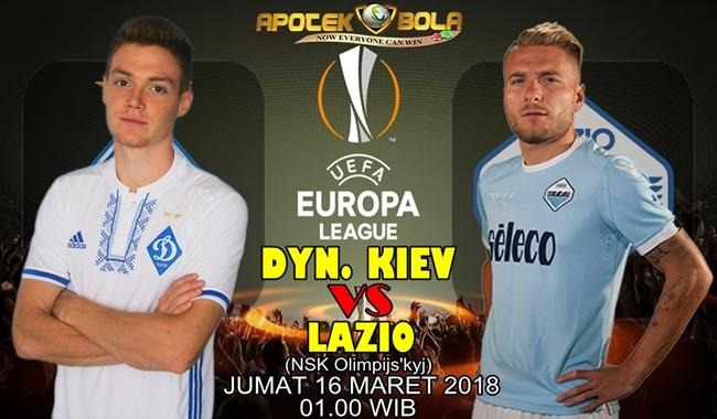 Prediksi Dynamo Kiev vs Lazio 16 Maret 2018