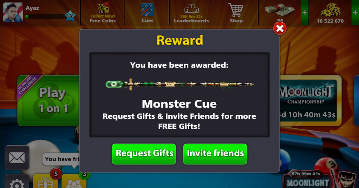 8 BALL POOL REWARD LINKS [8bp.co rewards]|| FREE MONSTER ...