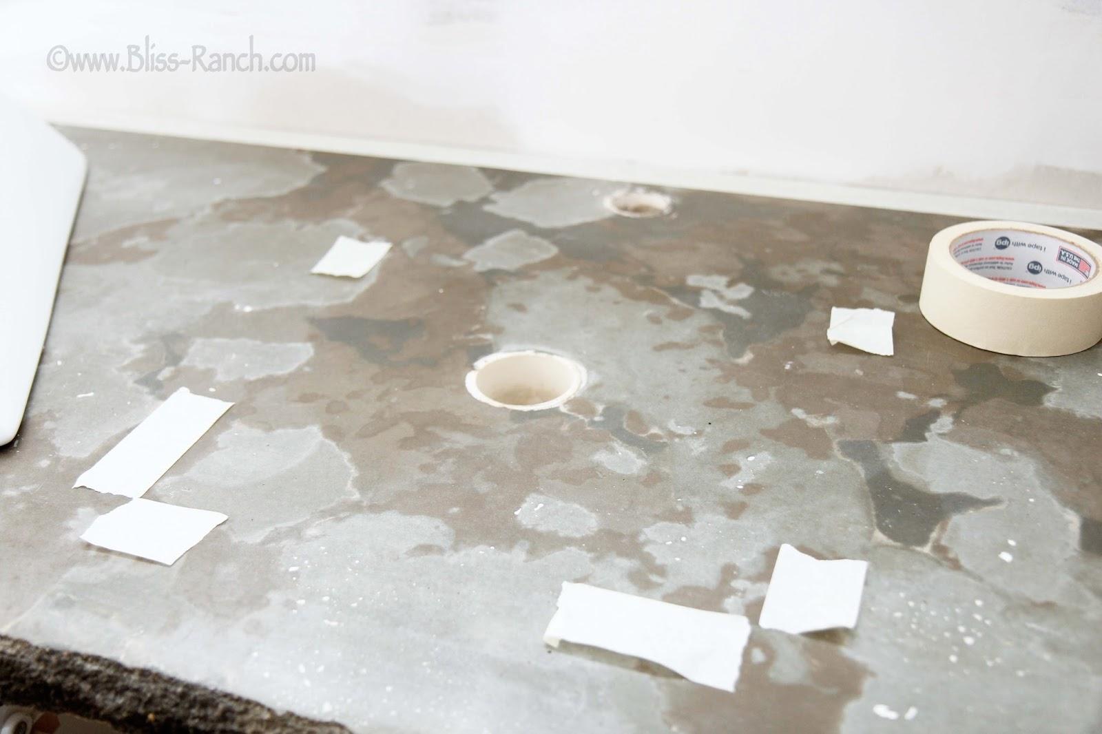 Poured Concrete Counter Bliss-Ranch.com
