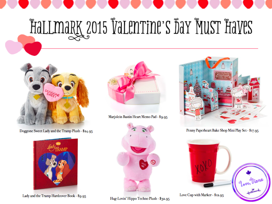Hallmark 2015 Valentine's Day Must Haves - Diana #LoveHallmarkCA
