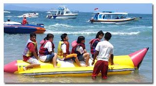 Jual Tiket Banana Boat paling murah di Bali - Watersport tanjung benoa