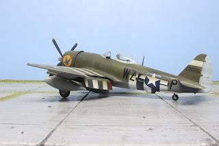 P-47D Thunderbolt II de Tamiya au 1/48.