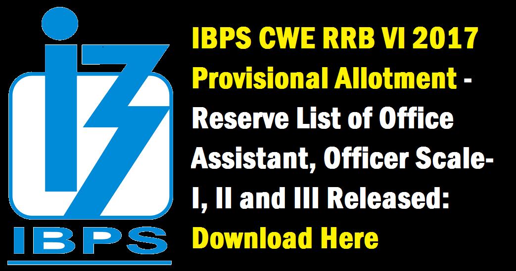 Ibps rrb 2018 online application form (cwe vii) notification pdf.