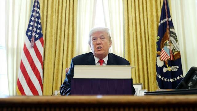 Trump, triste porque China vende petróleo a Corea del Norte