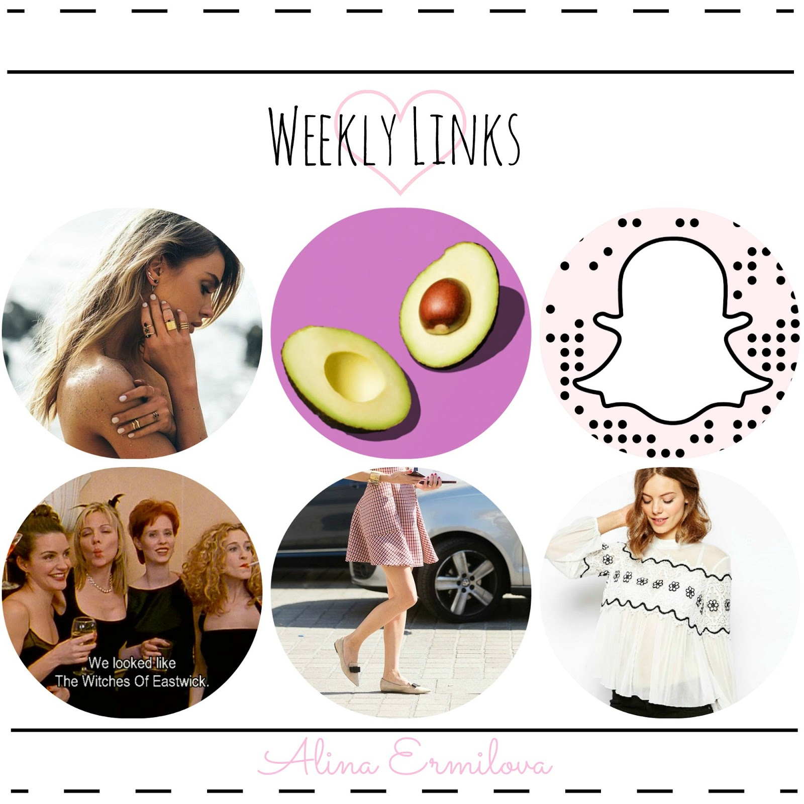 How to ripen an avocado, 9 Pro Snapchat tips, 3 Slimming style tricks, etc.