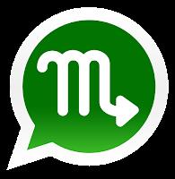 Iconos de los signos zodiacales para promocionar grupos de Whatsapp de escorpio