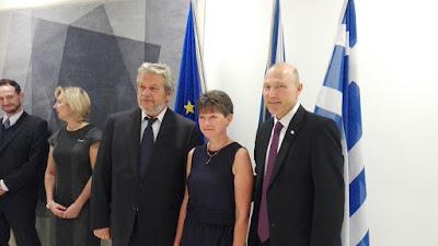 ΔΕΛΤΙΟ ΤΥΠΟΥ Ο Χάρης Τζαμακλής στην Πρεσβεία της Τσεχίας