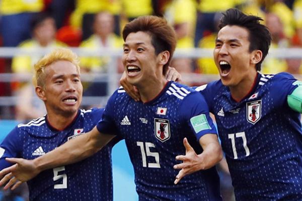 Piala Dunia 2018 Momen Ekspresi Terbaik gol tim jepang