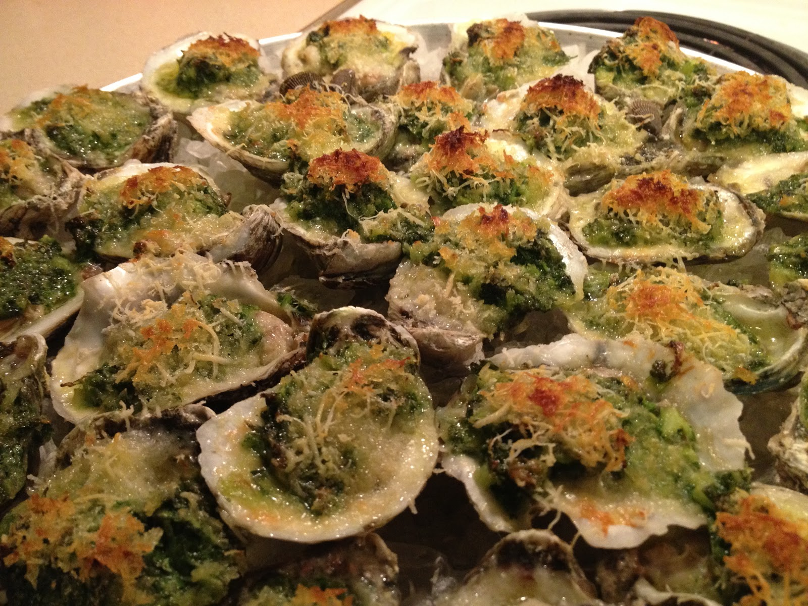 My Stolen Recipes Oysters Rockefeller
