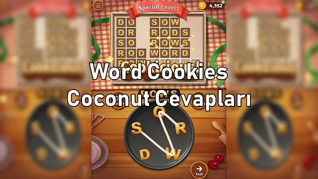 Word Cookies Coconut Cevaplari