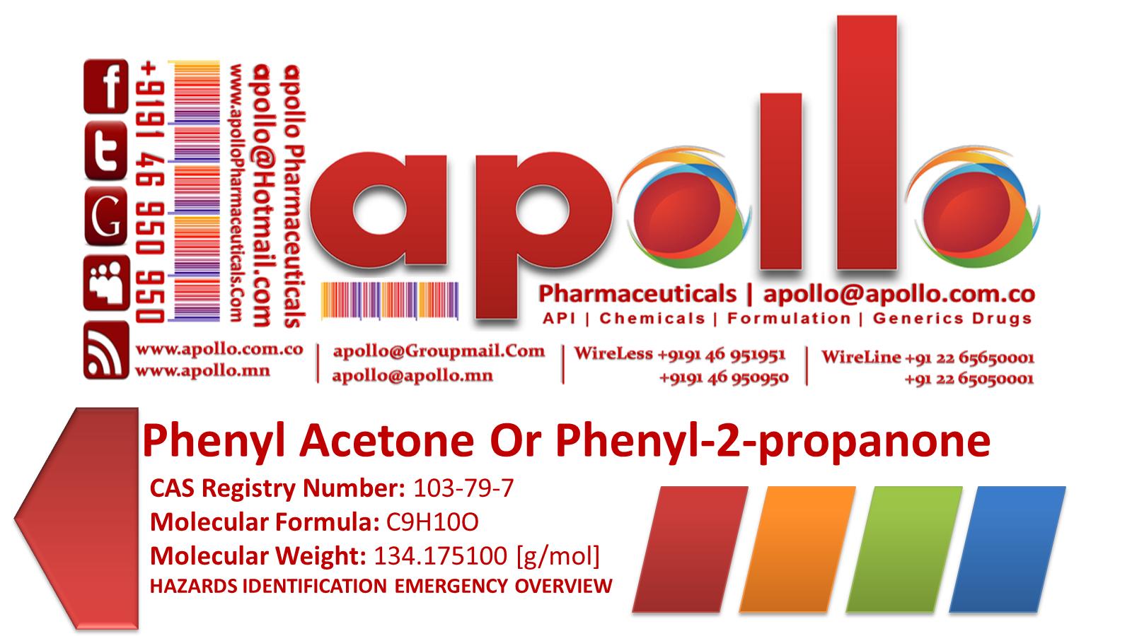 Phenylacetone Drug
