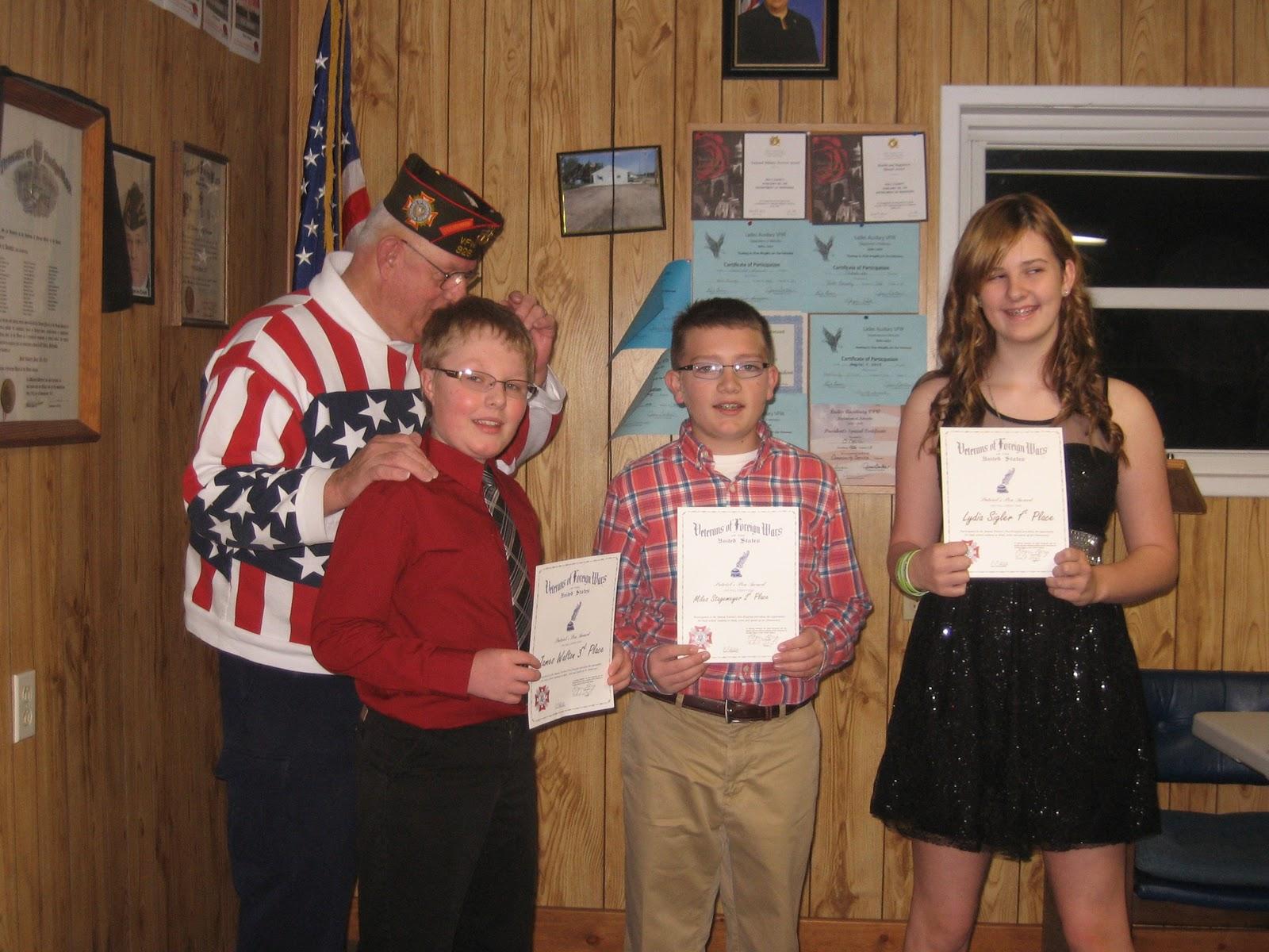 Patriotism essay contest