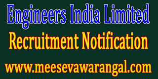Engineers India Limited EIL Recruitment Notification 2016