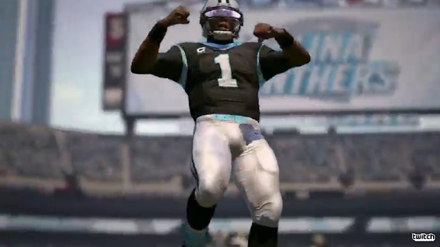 Madden NFL 17 E3 2016 trailer black football player celebrating