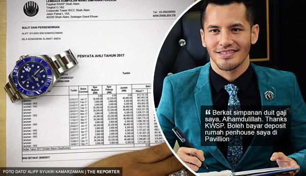 'Semua benda nak tunjuk, patutlah hidup tak tenteram' - Netizen kecam Dato' Aliff Syukri