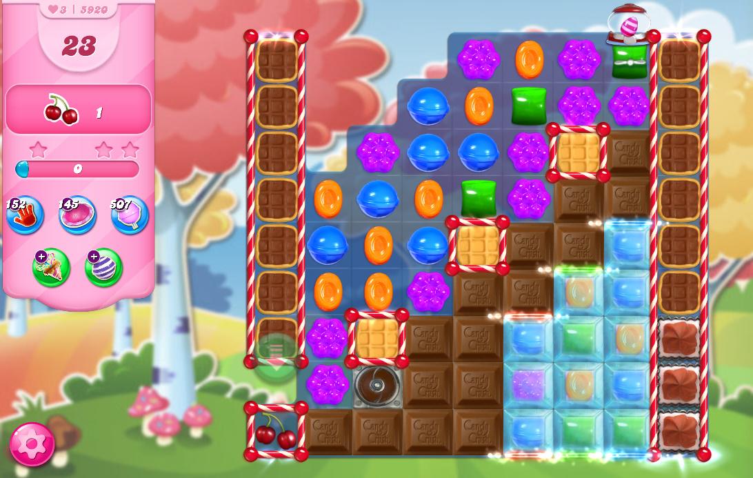 Candy Crush Saga level 5920