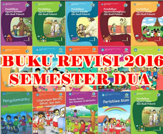 Download Buku Guru dan Siswa K13 Kelas 1 dan 4 Semester 2 Edisi Revisi 2016 Terbaru