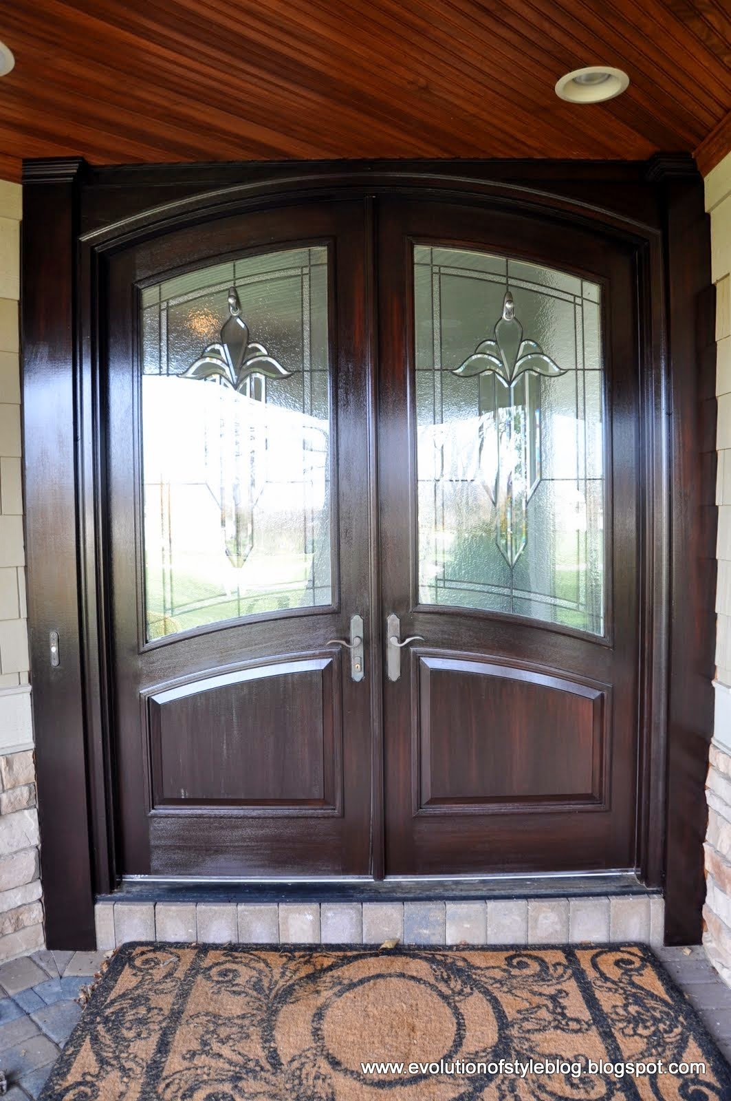 Front Door Reveal: Stain Without Pain