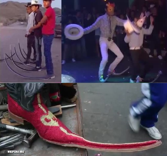10 Very Bizarre Trends From Around The World 5. Elf Boots