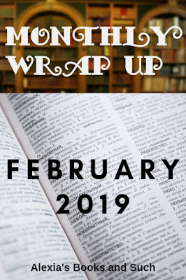 February 2019 Month in Review: Books read, Challenges met, and Other Shenanigans