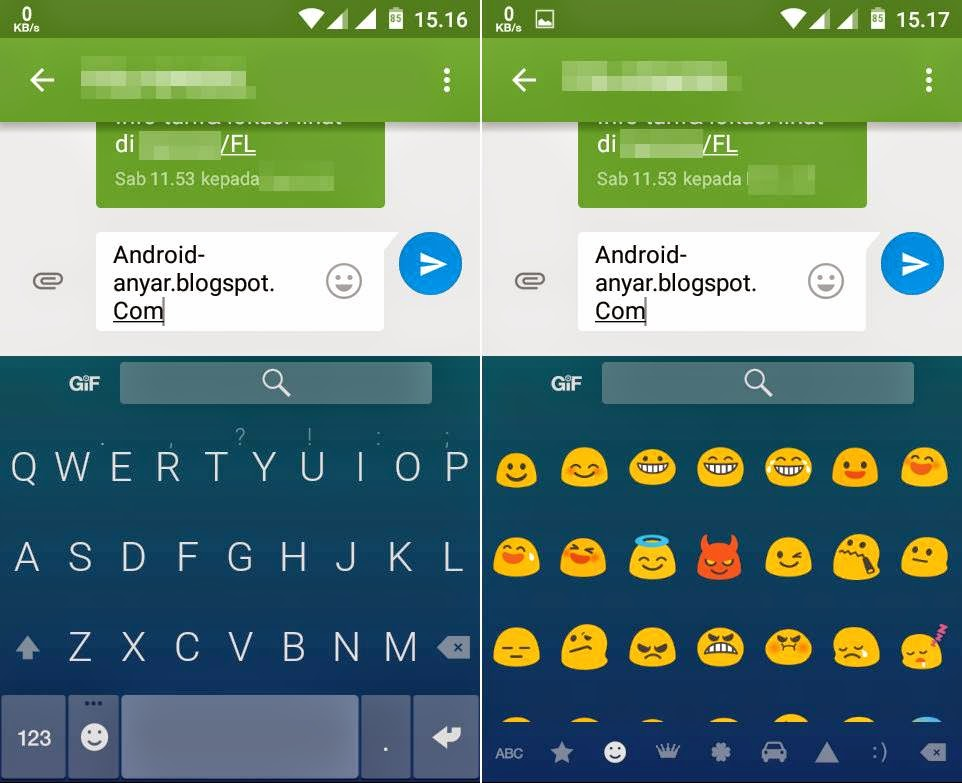 Fleksy Keyboard Android
