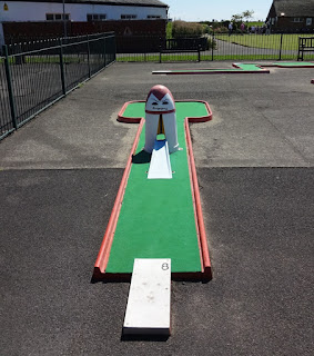 Crazy Golf course at Fairhaven Lake in Lytham Saint Annes