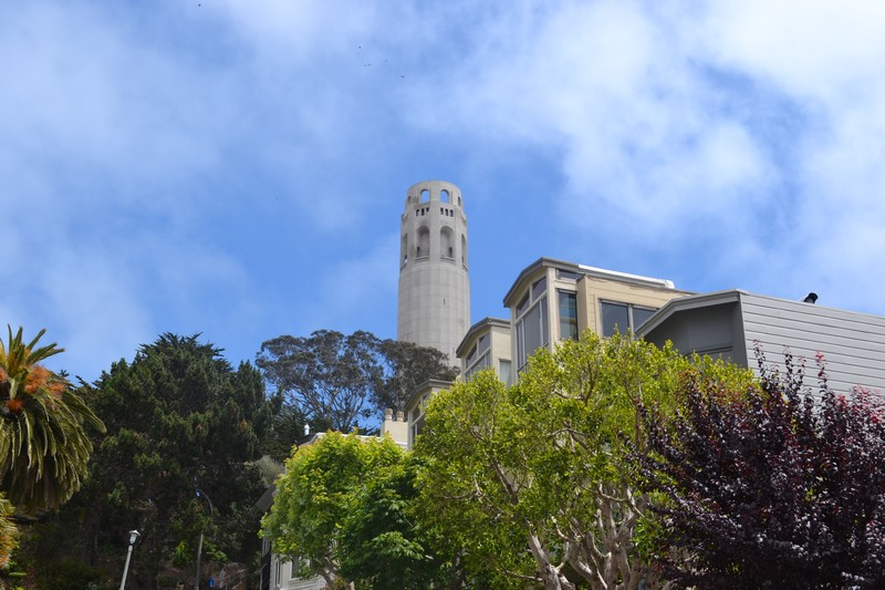 Coit Tower, San Francisco, Californie