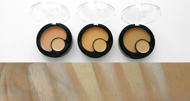 Revlon Colorstay 2 in 1 Compact Makeup and Concealer Review, Revlon Colorstay 2 in 1 Compact Makeup and Concealer Swatches