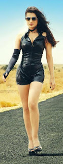 Amisha Patel in Sexy leather dress