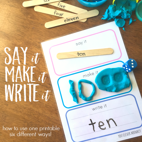 Our Top Ten Blog Posts of 2016 - Catch up on ten of the best of our blog posts from 2016 including some of our most popular educational printables | you clever monkey