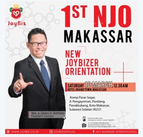 New Joybizer Orientation NJO Perdana di Kota Makassar
