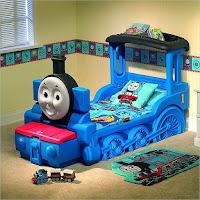 Increíbles camas que les encantarán a los pequeños tren