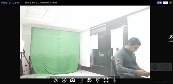 Web of Cam é um aplicativo totalmente gratuito que transforma seu celular em uma câmera de segurança