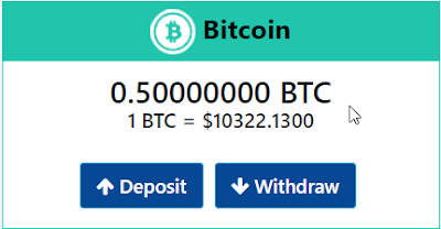 Deposit Bitconnectx