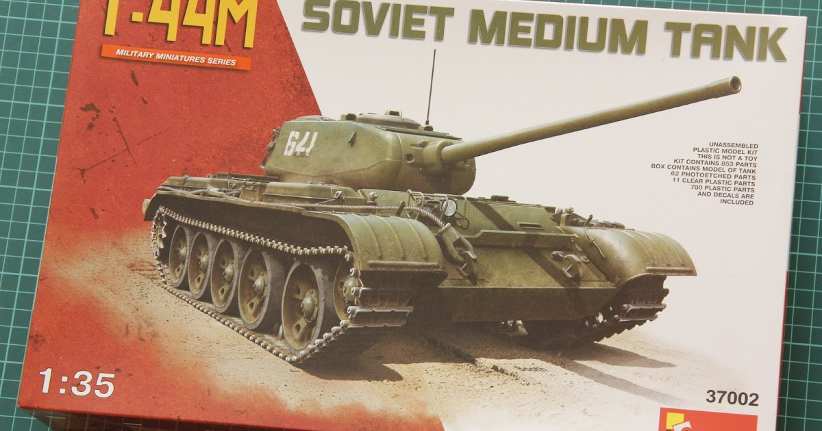 Miniart 1/35 T-44M (37002) - DetailScaleView