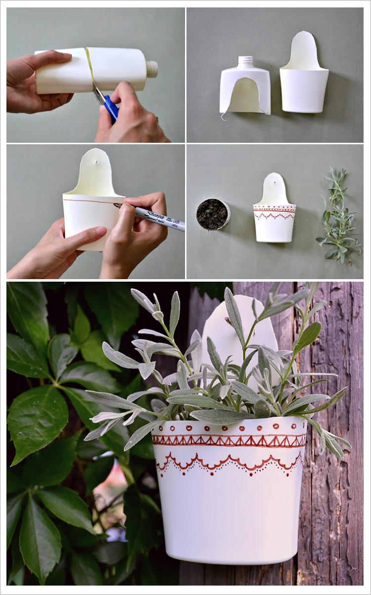 Tutorial de artesan as jardiner a salud para el cuerpo y - Jarrones decorativos para jardin ...