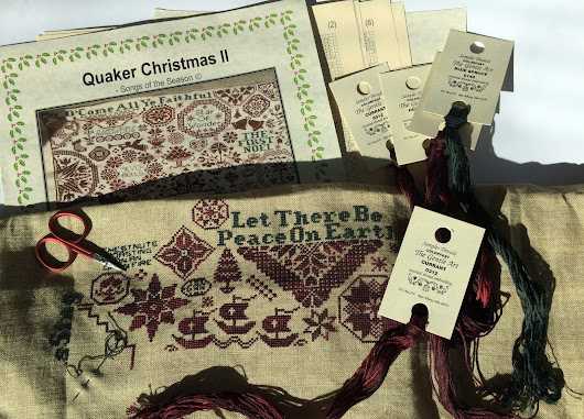 ByGone Stitches. Quaker Christmas II. Songs of the Season.
