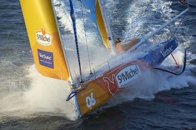 """Grosse frayeur pour JP Dick : """"Ce coup de vent a couché le bateau à l'envers"""""""