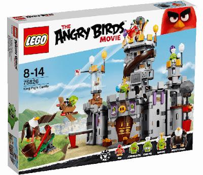 TOYS : JUGUETES - LEGO The Angry Birds Movie  75826 Castllo del Rey Cerdo | King Pig's Castle  La Película - Movie | Piezas: | Edad: 8-14 años  Comprar en Amazon España & buy Amazon USA