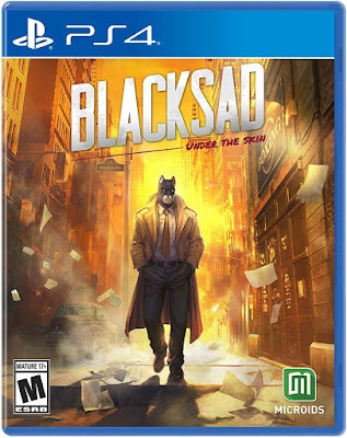 Blacksad Under The Skin Game Cover Ps4