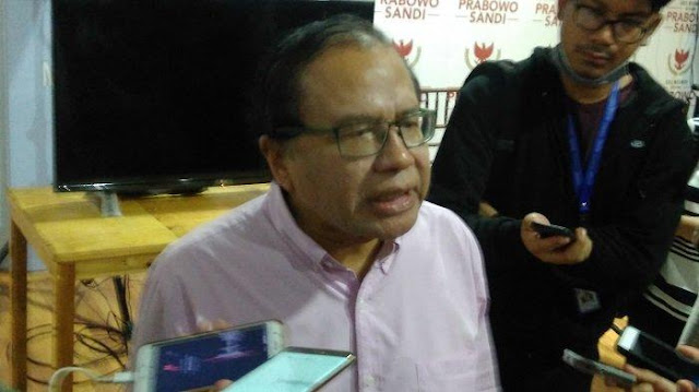 Rizal Ramli Minta Masyarakat Tidak Pilih Jokowi Bila Tidak Siap Daulat Pangan