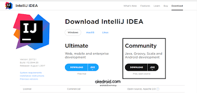 Intellij IDE Website