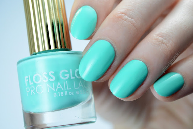 floss gloss wet swatch turquoise furious filer