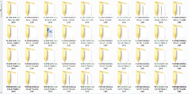 Download Kumpulan Permendiknas Tahun 2009